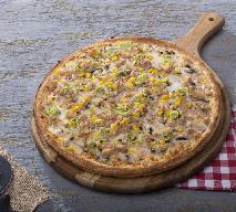 Kubańska pizza z kurczakiem - pomysł na dietetyczny obiad