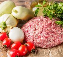 Pożywne leczo z mielonym mięsem