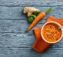 Zupa marchwiowo-imbirowa z menu beszamel
