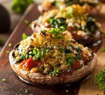 Grzyby portobello zapiekane z kuskusem - pomysł na obiad