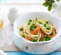 Spaghetti z wędzonym łososiem - szybki i prosty obiad, który każdemu smakuje