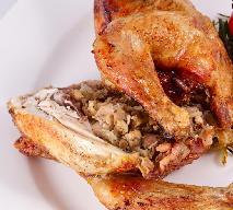 Udka kurczaka faszerowane pieczarkami [WIDEO]