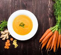 Zupa krem z marchwi z imbirem: przepis na pyszną rozgrzewającą zupę