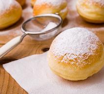 Pączki pieczone - przepis na pączki z piekarnika