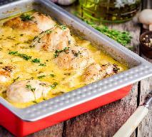 Pałki kurczaka w sosie musztardowym z pieczarkami: obfity i smaczny obiad