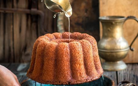 Rumowa-babka ze słodkich ziemniaków: najlepszy przepis na ciasto