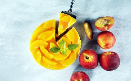 Nektarynkowiec bez pieczenia - słoneczny deser na upalne dni