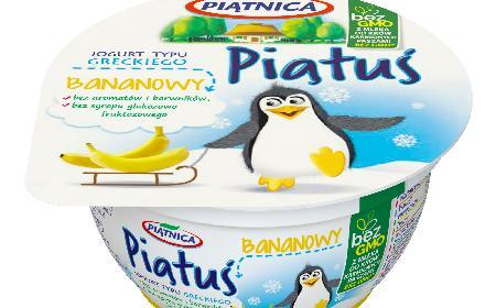 Nowe jogurty Piątuś - 3 smaki zdrowej przekąski