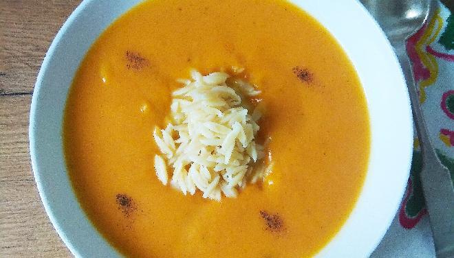 Zupa dyniowa na słodko